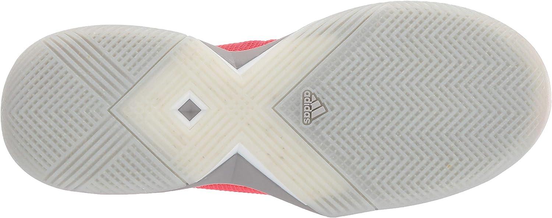 adidas Women's Adizero Ubersonic 3 X Parley Tennis shoe Shock Red/White/Light Granite