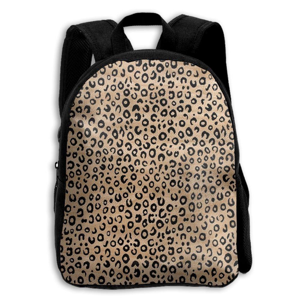 sdeyr79スタイリッシュな子ブラックアイボリーAnimal PrintスクールバックパックBookbags Middle Bags Daypack For Boys Girls   B07FZTQN81