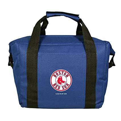 f10e2a036f1 Amazon.com   MLB Boston Red Sox Soft Sided 12-Pack Cooler Bag ...