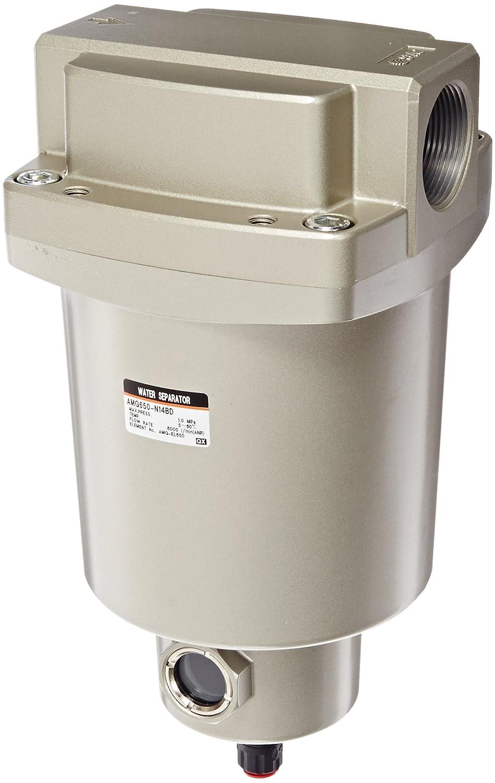SMC AMG650-N14BD Water Separator, N.O. Auto Drain, 6,000 L/min, 1-1/2 NPT, Mounting Bracket by SMC Corporation B009VQ0Z4U