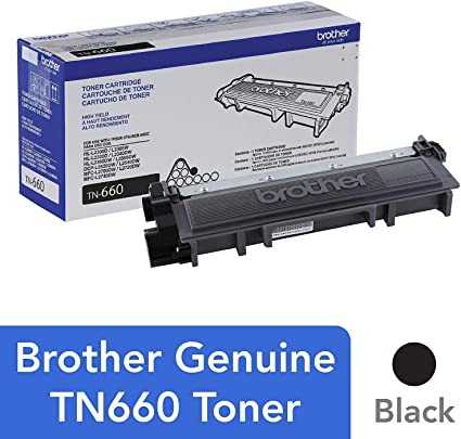 Amazon.com: Brother HL L2380DW High Yield Black Toner (2600 ...