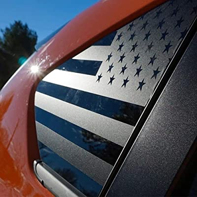 XPLORE OFFROADⓇ - CrossTrek XV | Precut American Flag Window Decals | Both Sides | 2012-2020: Automotive