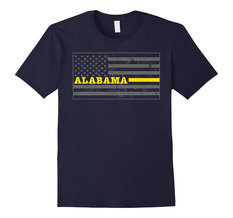 Alabama Tow Truck Driver Shirt Thin Yellow Line Shirt-CD