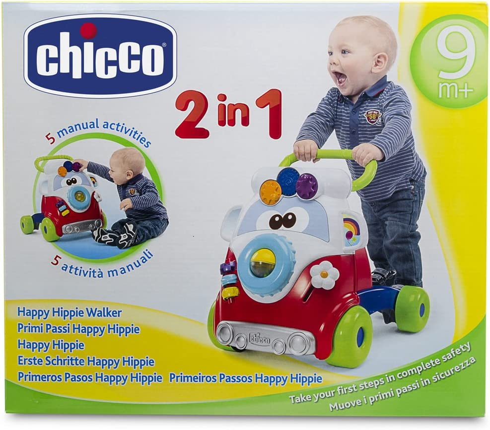 Amazon.com: Chicco Happy hippy Walker: Toys & Games