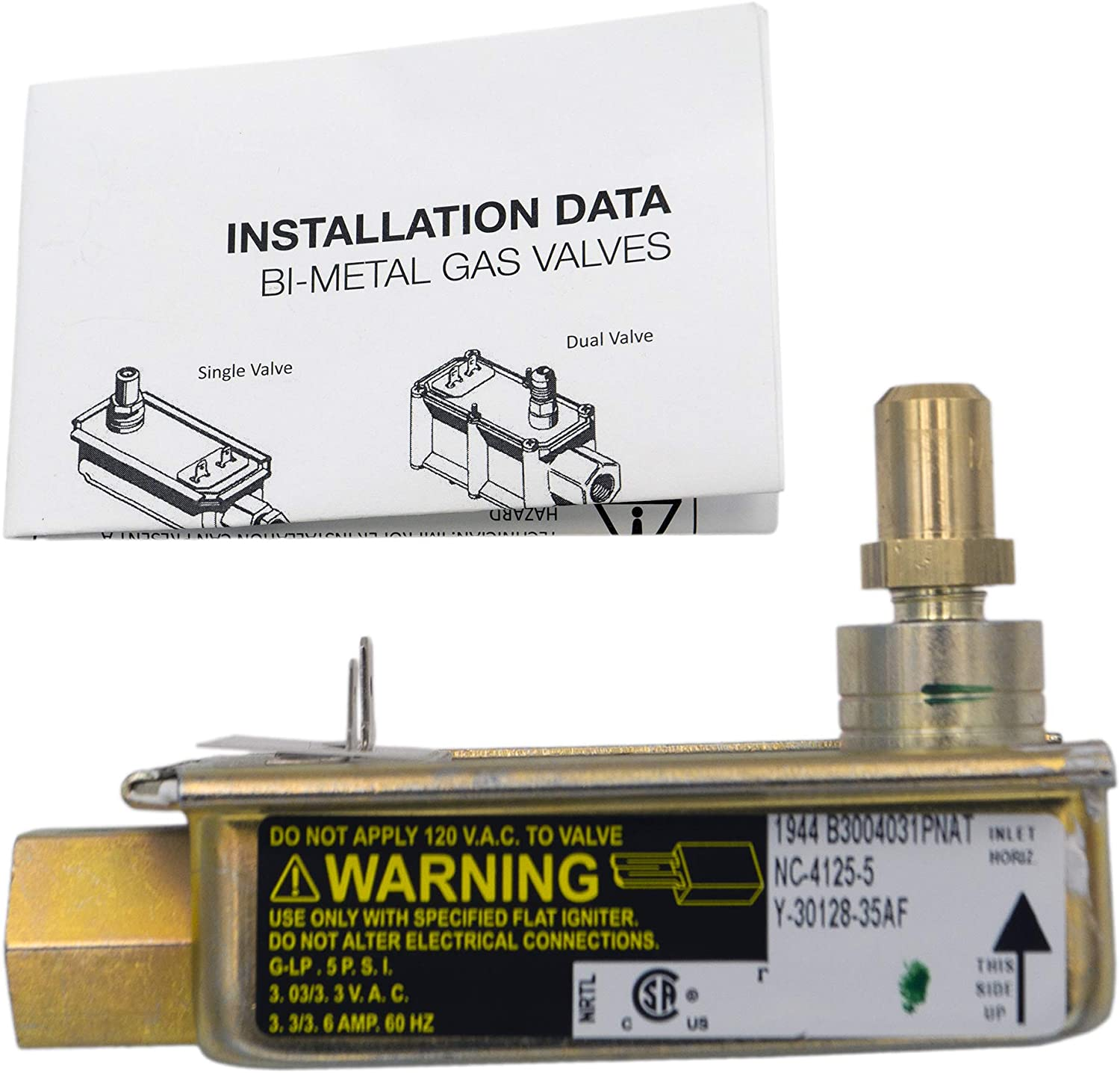 Supplying Demand 3203459 Oven Safety Valve Compatible With Frigidaire