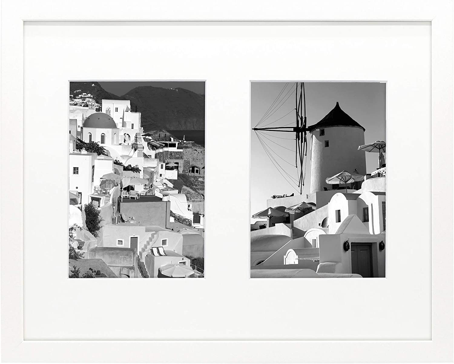 Golden State Art 11x14 White Wood Frame - Mat Display with Cheap mail order sales Max 68% OFF