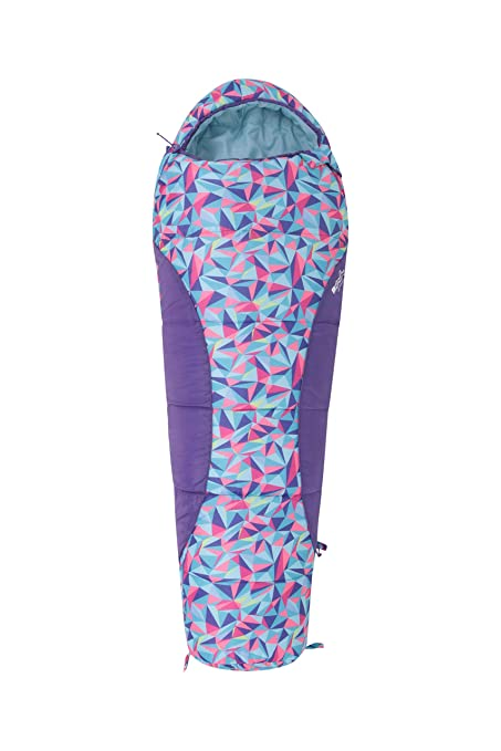 Mountain Warehouse Saco de Dormir Estampado Apex Mini Rosa Talla única