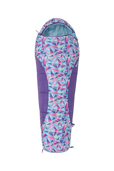 Mountain Warehouse Saco de Dormir Estampado Apex Mini Rosa Talla única