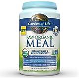 Garden of Life Organic Vegan Meal Replacement - Raw Plant Based Protein Powder, Vanilla, 34.2oz (969g) Powder