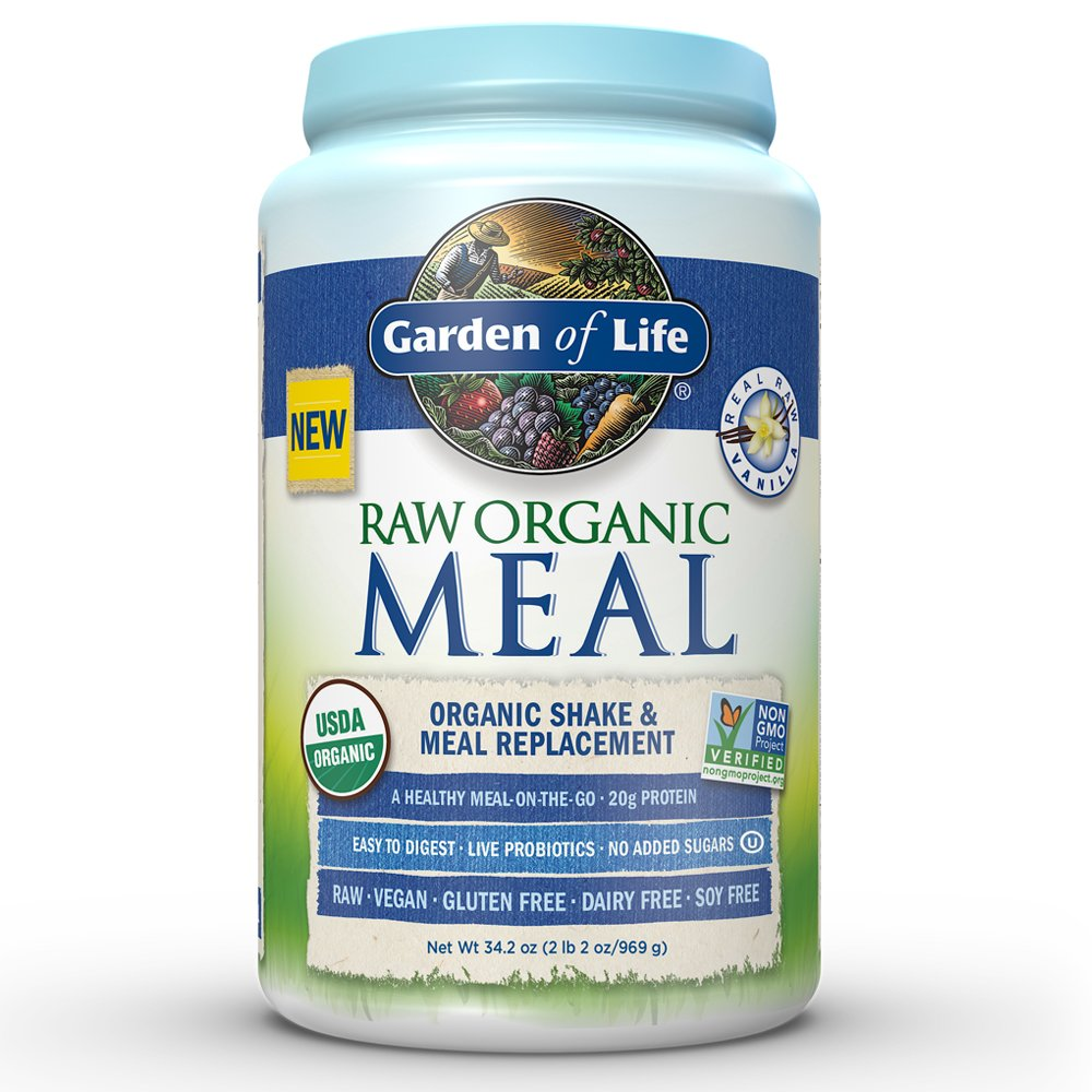 Garden Of Life Greens And Protein Powder Organic Raw Protein And Greens With