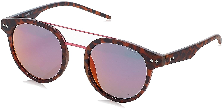 Polaroid Unisex-Erwachsene Sonnenbrille Pld 6031/S AI N9P, Braun (Matt Havana/Grey Pink Grey Speckled Pz), 49