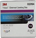 "3M 02094 Trizact Hookit 3"" P1500 Grit Clear Coat Sanding Disc"
