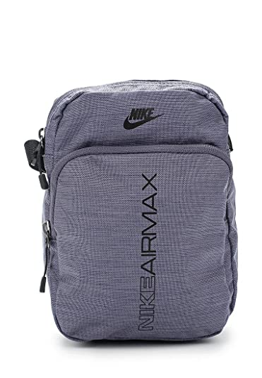 5982f4d314db8 Nike Air Max Small Item BAG BA5776-011 Light Carbon Black Black ...
