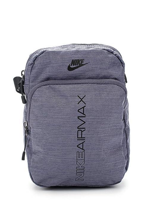 89354fedfdd0d Nike Air Max Small Item BAG BA5776-011 Light Carbon Black Black  Amazon.de   Schuhe   Handtaschen