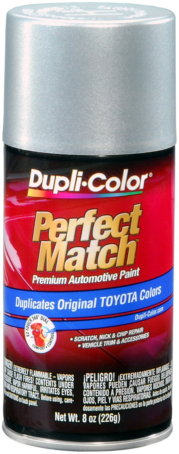 Amazon.com: Dupli-Color BTY1616 Silver Streak Mica Toyota Exact-Match Automotive Paint - 8 oz. Aerosol: Automotive