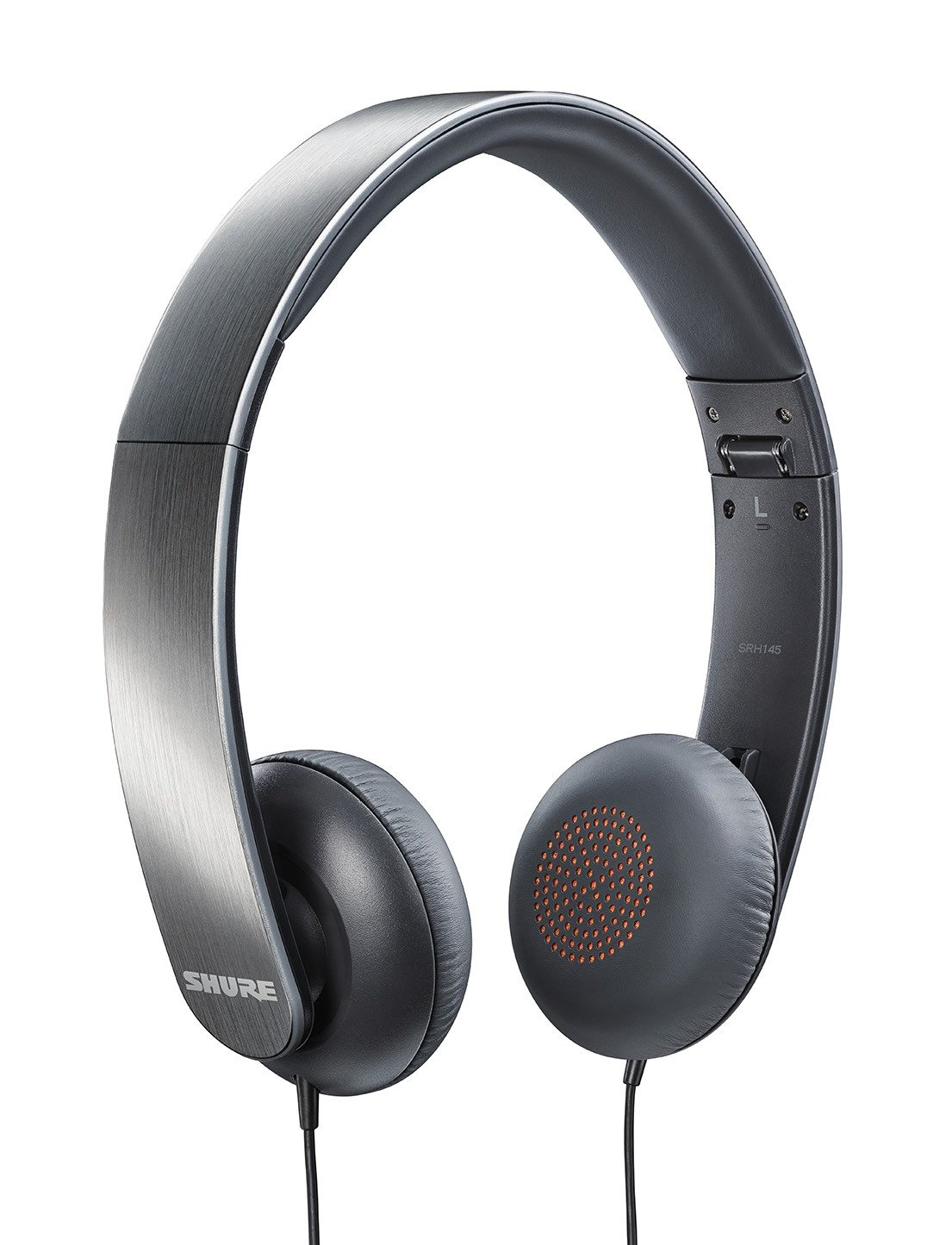 CDM product Shure SRH145 Semi-Open Portable Collapsible Headphones big image