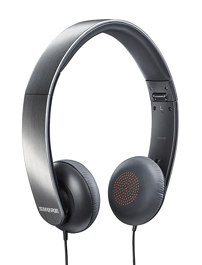 Shure SRH145 Portable Collapsible Closed-Back Headphones