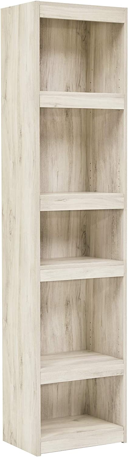 Signature Design by Ashley - Bellaby Pier - 4 Shelves - Whitewash