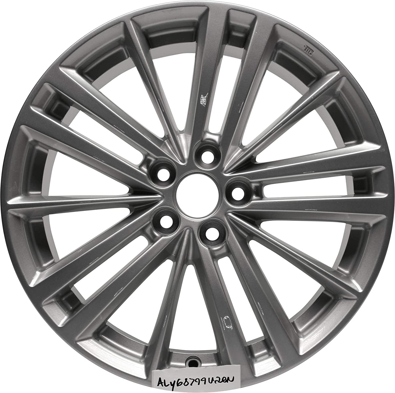 Partsynergy Replacement For New Replica Aluminum Alloy Wheel Rim 17 Inch Fits 13-16 Subaru BR-Z 15 Spokes 5-102mm