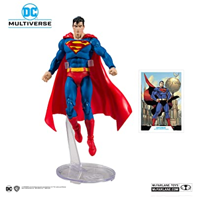 McFarlane DC Multiverse Superman: Action Comics #1000 Action Figure: Toys & Games