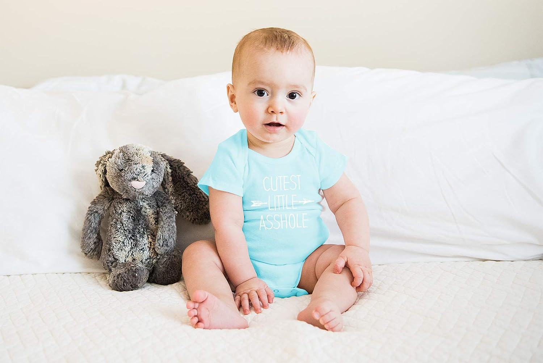 Amazon.com: CrazWear Cutest Little Asshole - Body de algodón ...