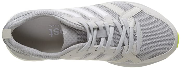 info for d20d1 3fd35 adidas Adizero Tempo 9, Chaussures de Running Compétition Femme, Gris  OneFootwear WhiteGrey Two, 44 EU Amazon.fr Chaussures et Sacs