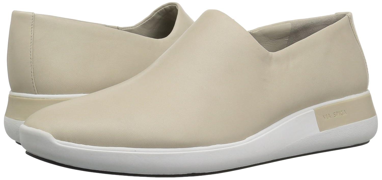 Via Spiga B(M) Women's Malena Slip Sneaker B06XGS1Q57 12 B(M) Spiga US Light Taupe Leather b6af55
