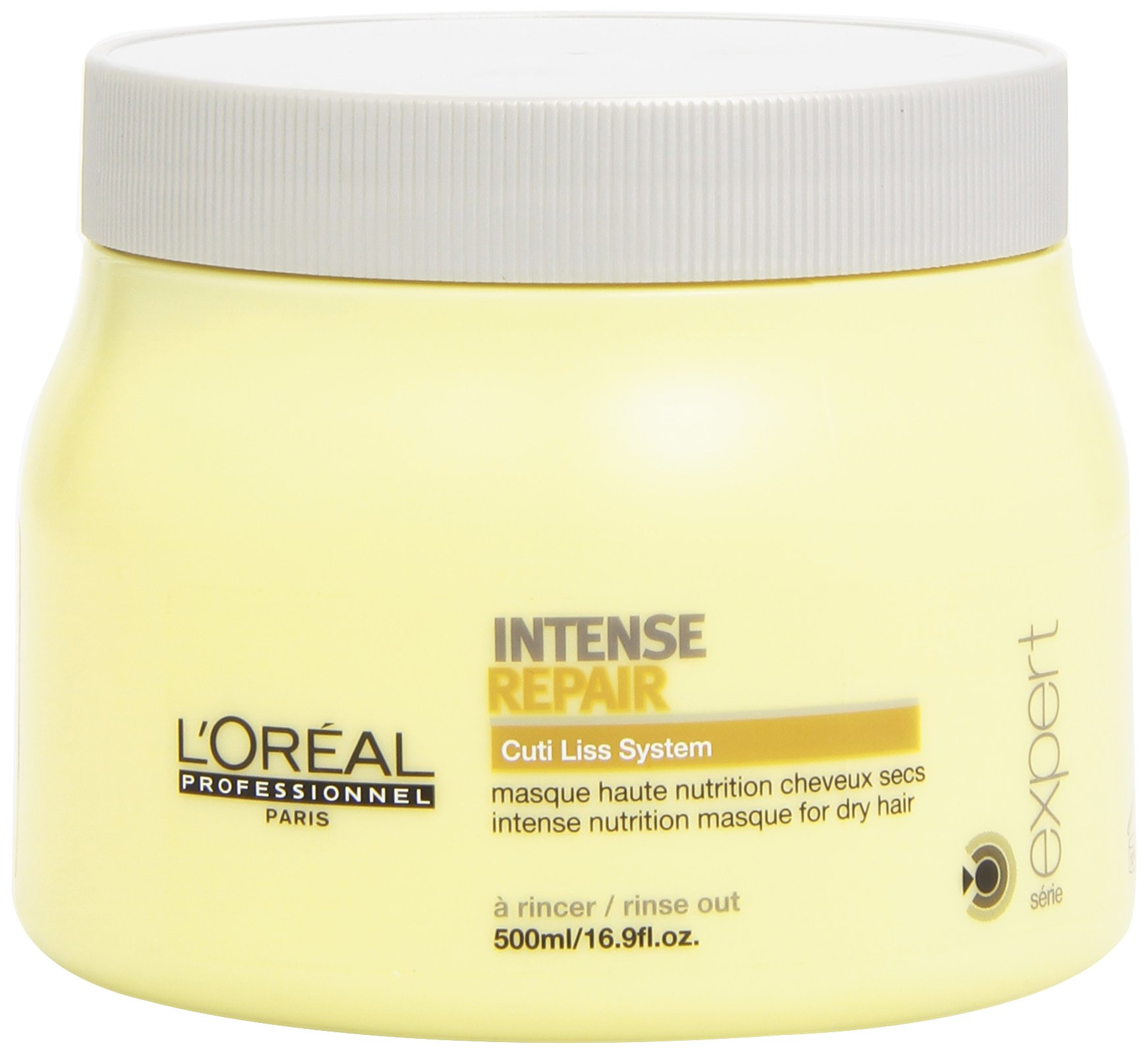 L'oreal Intense Repair Masque for Unisex, 16.9 Ounce