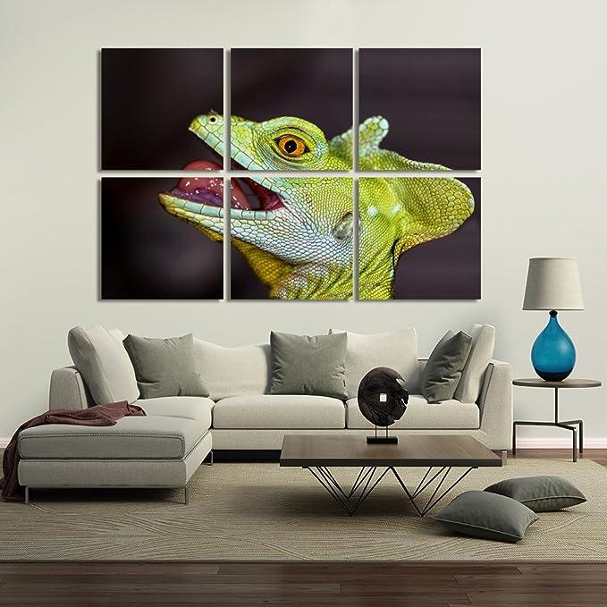 feeby Frames, Bild-Wand, Rahmen Gemälde von 6 Platten – Bild ...