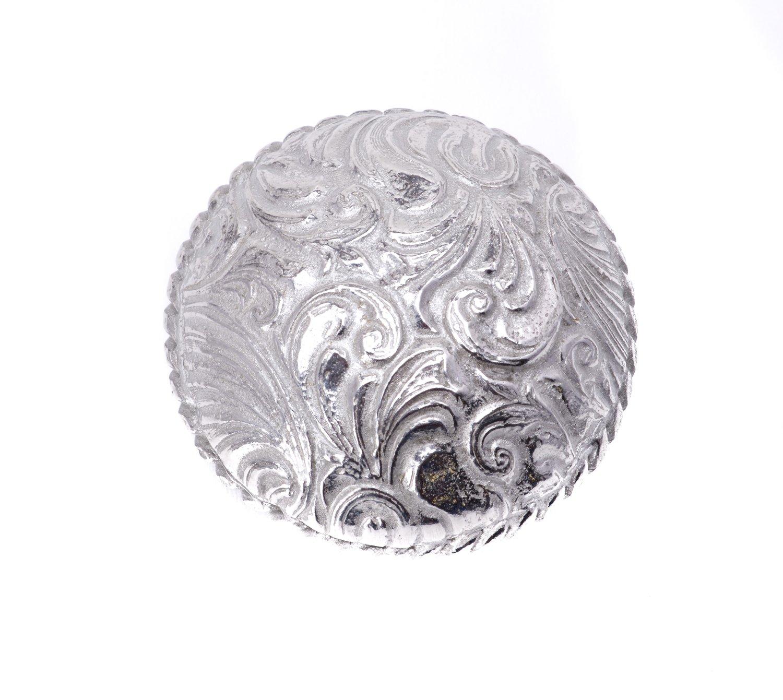 Carpe Diem Hardware 8050-24 Tularosa Large Knob Platinum