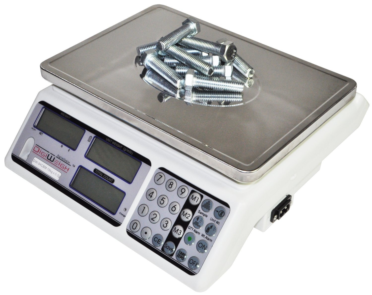 Digiweigh 15KG/0.5G Counting Scale (DW-94CBM)