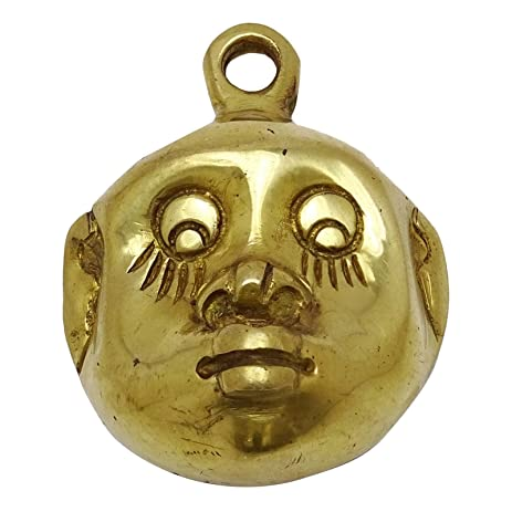 Amazon.com: Face Design Home Brass Wall Decor Ethnic Decorative ...