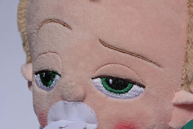 Un jefe en pañales Peluche Bebé en Traje 25cm The Boss Baby Templeton Pelicula Dreamworks Super Soft: Amazon.es: Juguetes y juegos