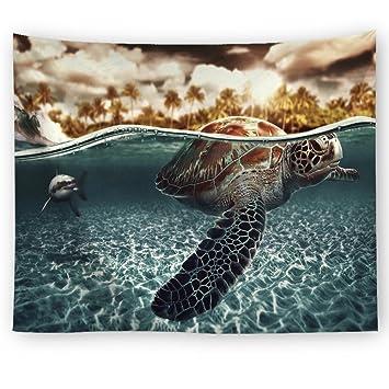 Wjsw Schön Ozean Art Tapisserie, Indische Mandala Hippie Boho Stil ...