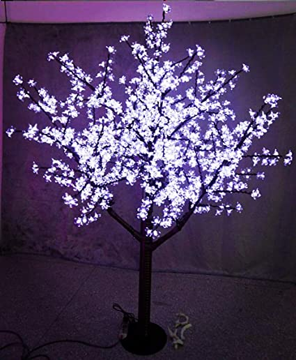 sale retailer ef418 730b1 StarLight 5ft/1.5m LED Cherry Blossom Tree, White, Outdoor Use, Rainproof