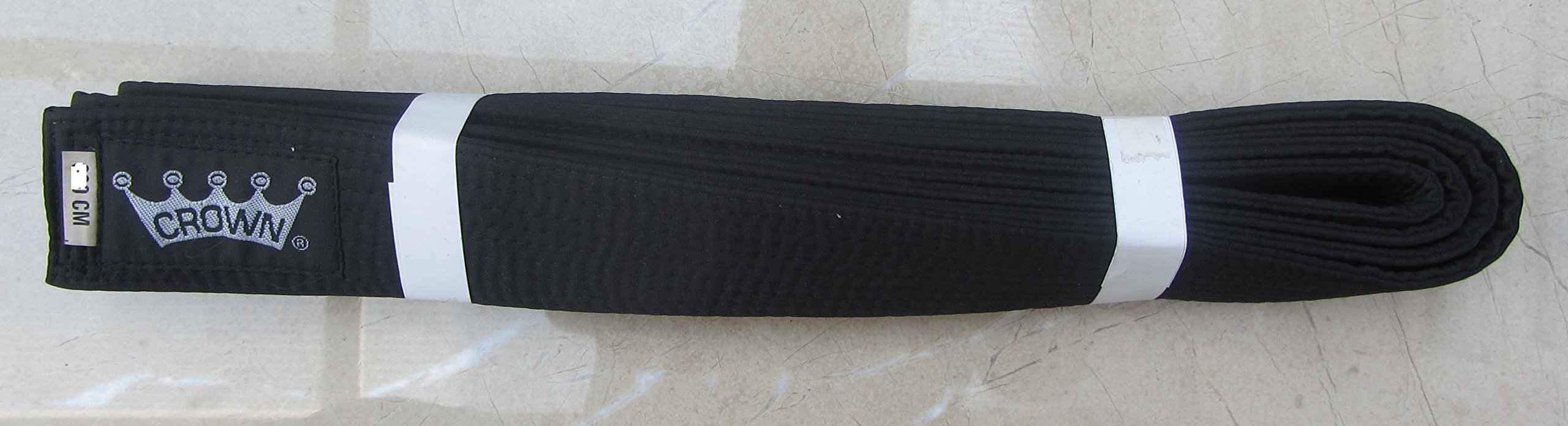 Black Belt -MASTER-Silk/Satin -280cm CROWN Martial Arts Kempo Kickboxing