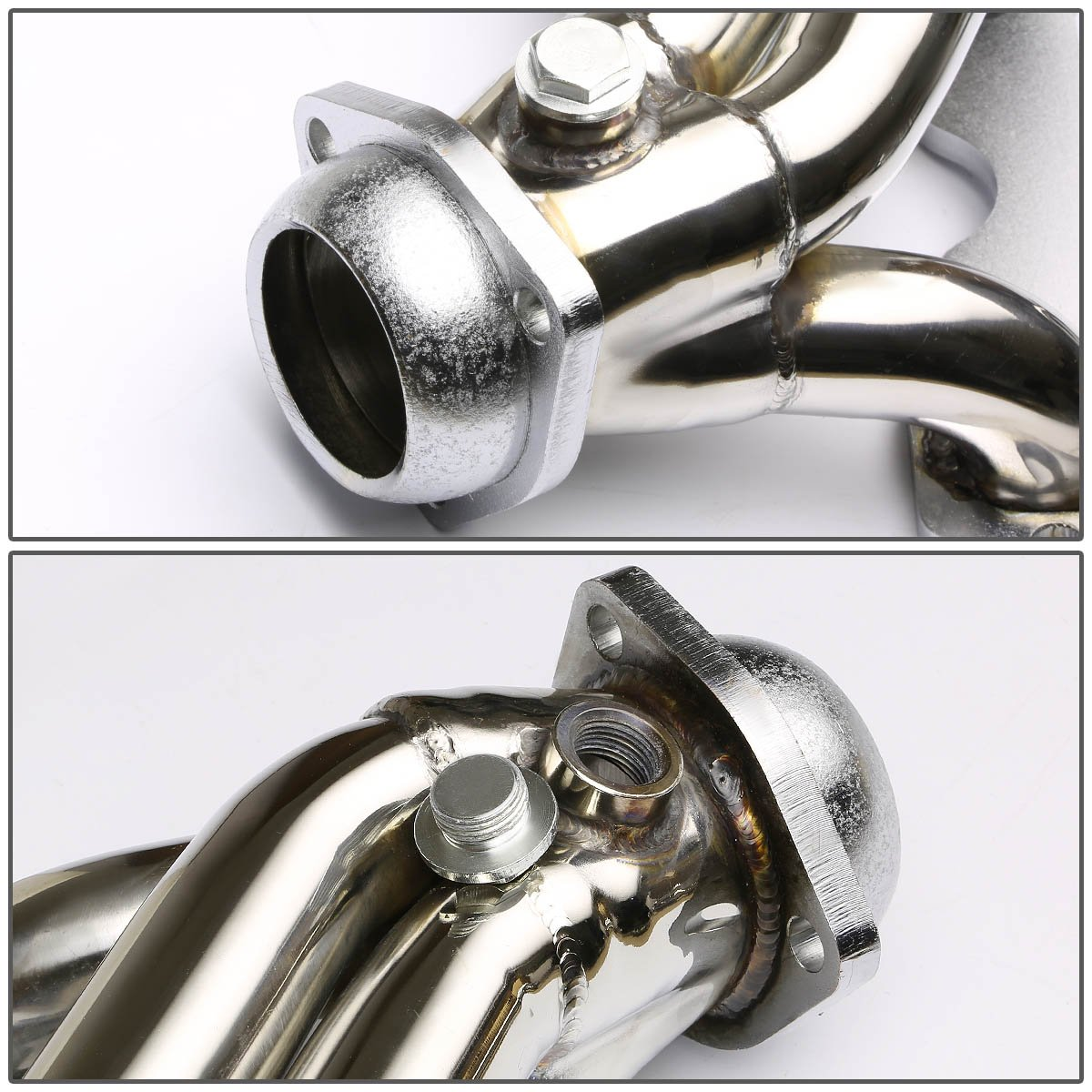 DNA Motoring HDSGMC85T2 Stainless Steel Exhaust Header Manifold