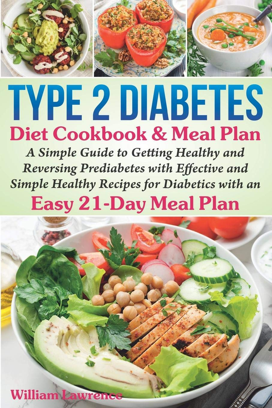 Type 2 Diabetes Diet Cookbook Meal Plan A Simple Guide To