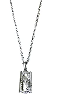 Stylish collection flying eagle pendant with chain for men boys factorywala bold blade pendant with chain for thecheapjerseys Choice Image