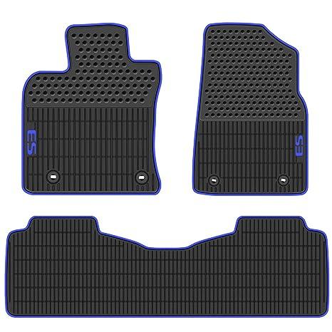 Car Floor Mats >> Hd Mart Car Floor Mats Compatible With Lexus Es 2019 Custom Fit For Black Navy Blue Rubber Car Floor Liners Set All Weather Heavy Duty Odorless