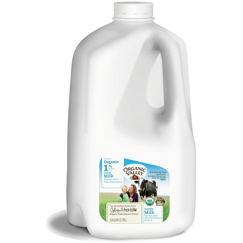 1% Lowfat Organic Milk, Organic Valley Ultra Pasteurized Gallon, 128 fl oz