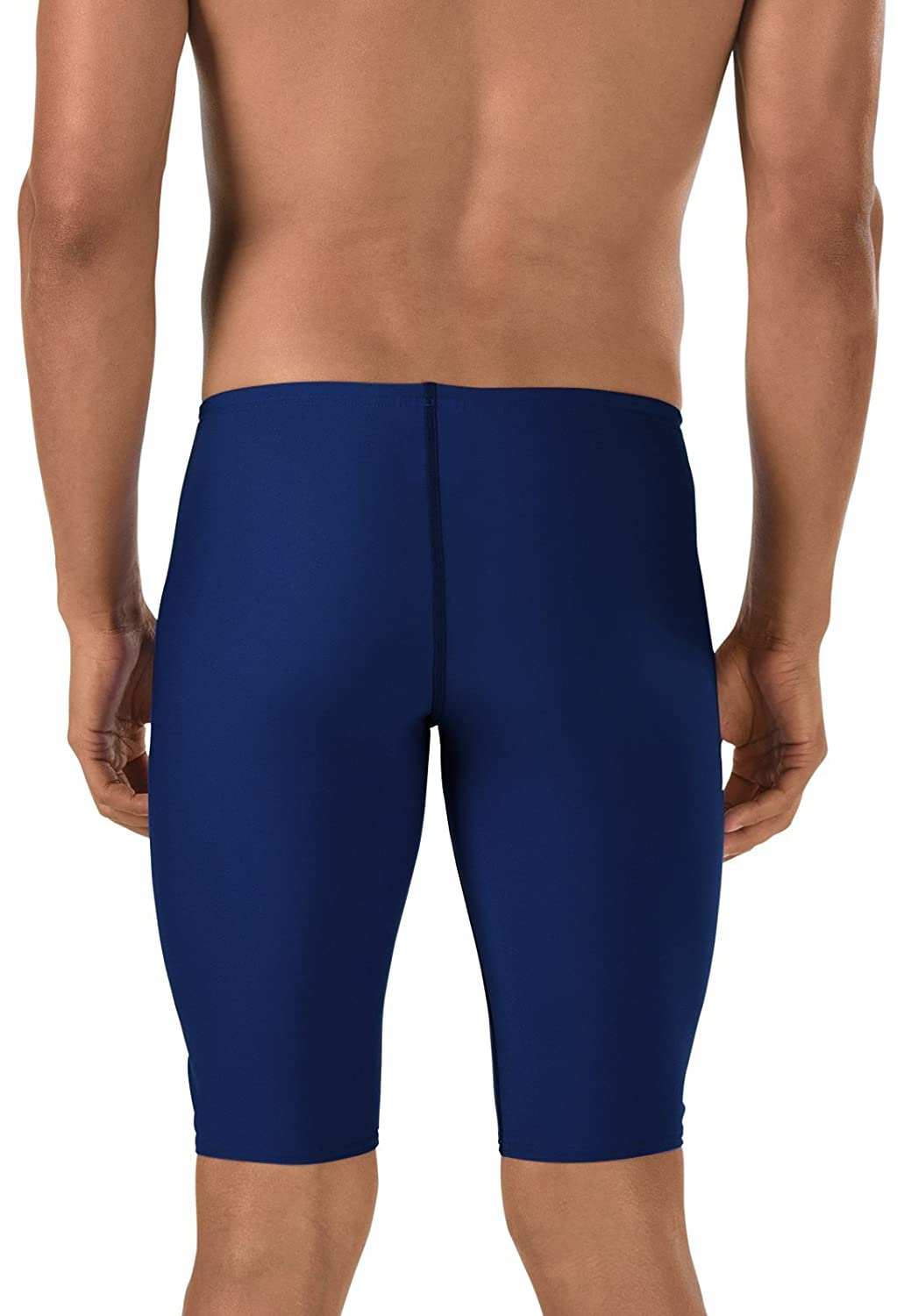 Amazon.com   Speedo Male Jammer Swimsuit - Endurance+ Polyester Solid    Athletic Swim Jammers   Sports   Outdoors 2a3b3e7f6