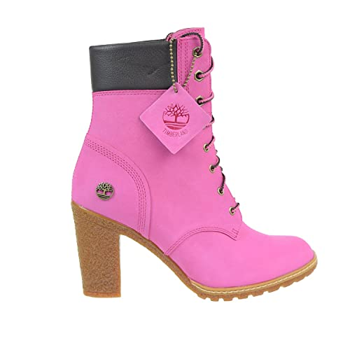 huge selection of 4a48f 768ad Timberland Women s Glancy Premium Boots Rose Pink Nubuck tb0a1k7b (11 B(M)  US