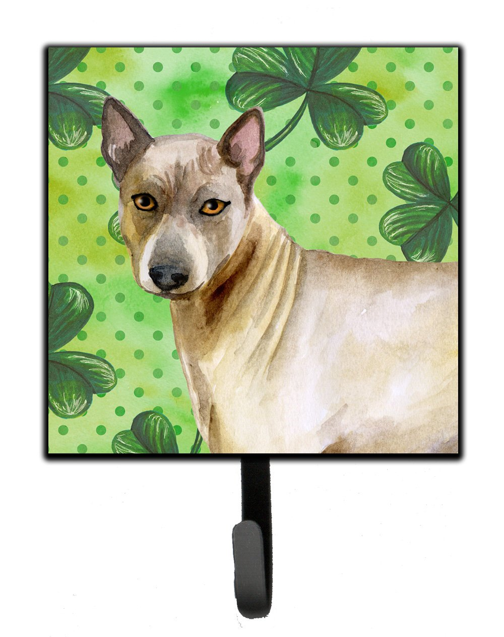 Caroline's Treasures Thai Ridgeback St Patrick's Wall Hook, Small, Multicolor by Caroline's Treasures