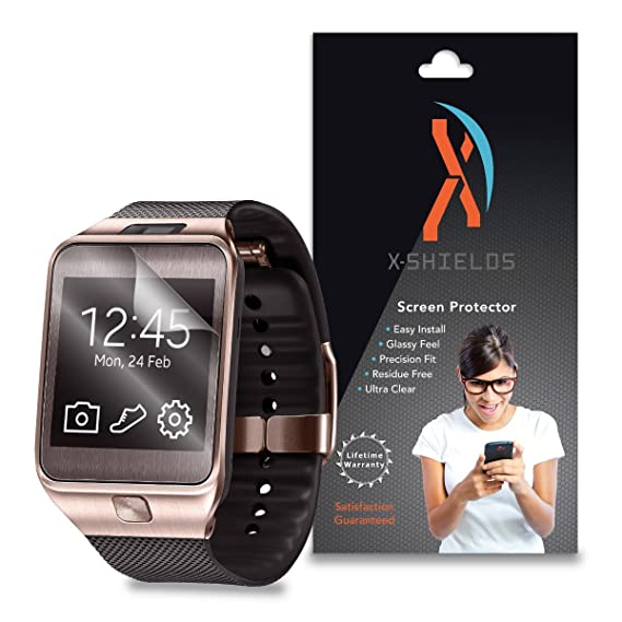 XShields© (4-Pack) Screen Protectors for Samsung Gear 2 Smartwatch (Ultra Clear)
