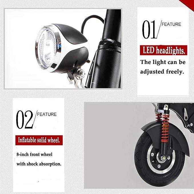 Amazon.com: Z-HBMT - Patinete eléctrico para adultos ...