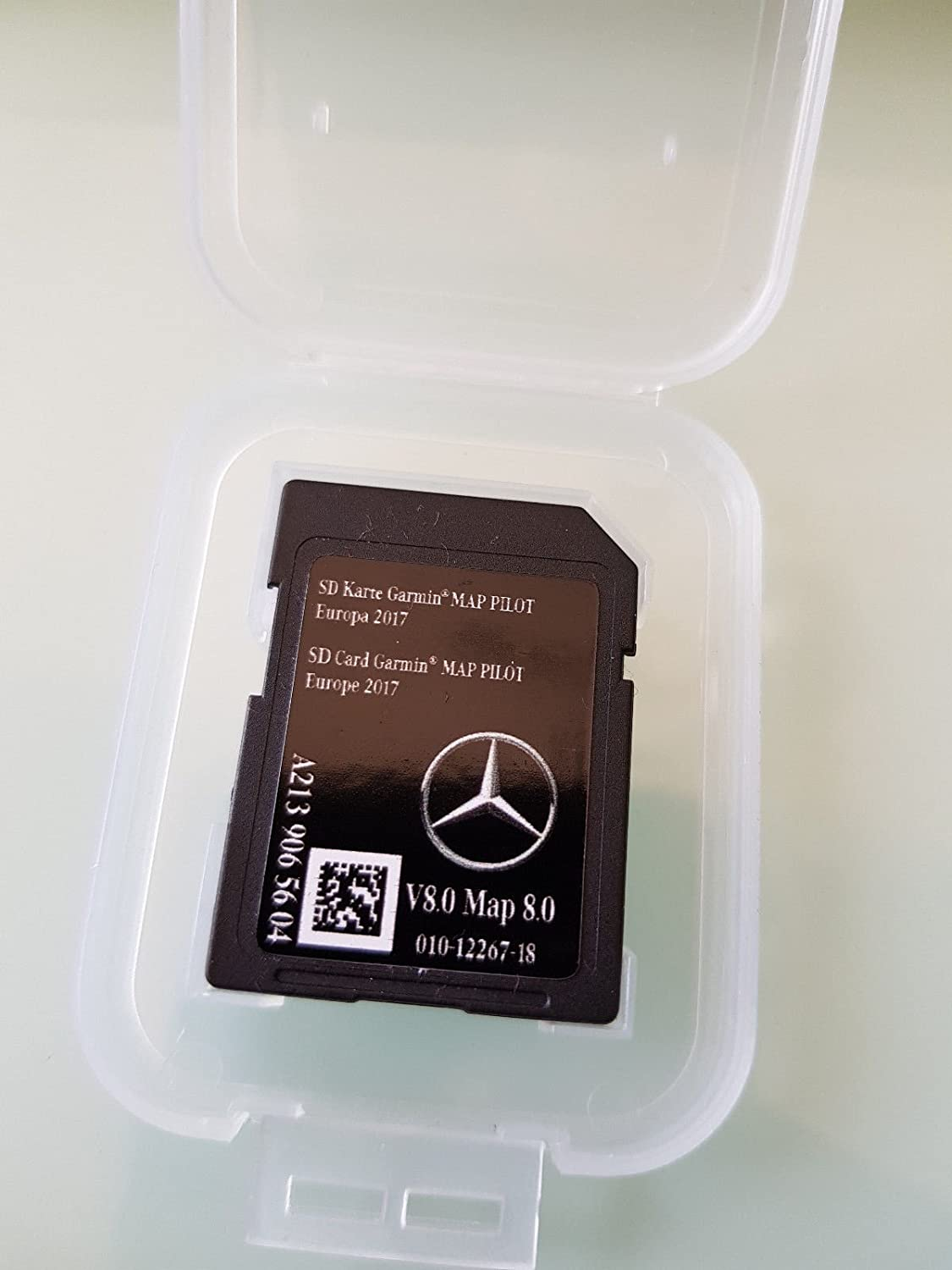 NEWEST Mercedes Benz SD Card Garmin Map Pilot V8 2017 - A2139065604