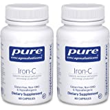 Pure Encapsulations Iron-C with Iron (15mg) and Vitamin C (175mg) Made with Hypoallergenic, Vegan Ingredients - A Dietary Sup