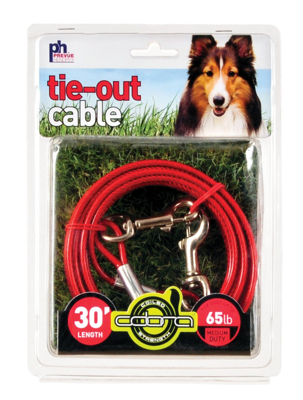 Prevue Pet Products 2121 Medium-Duty 30' Tie-Out Cable