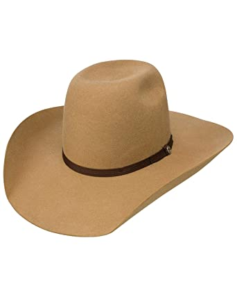 Resistol Hooey Day Money 4X Wool Pecan Cowboy Hat at Amazon Men s ... 4c835fe57c2